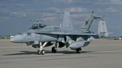 Photo ID 204590 by David F. Brown. USA Navy McDonnell Douglas F A 18C Hornet, 164641