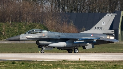 Photo ID 204643 by Thomas Ziegler - Aviation-Media. Netherlands Air Force General Dynamics F 16AM Fighting Falcon, J 002