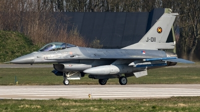 Photo ID 204642 by Thomas Ziegler - Aviation-Media. Netherlands Air Force General Dynamics F 16AM Fighting Falcon, J 011