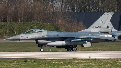 Photo ID 204692 by Thomas Ziegler - Aviation-Media. Netherlands Air Force General Dynamics F 16AM Fighting Falcon, J 628