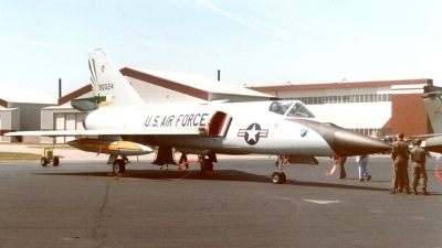 Photo ID 204681 by Wayne Dippold. USA Air Force Convair F 106A Delta Dart 8, 59 0024