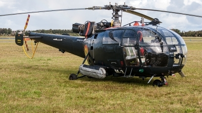 Photo ID 204844 by Jan Eenling. Belgium Navy Aerospatiale SA 316B Alouette III, M 3