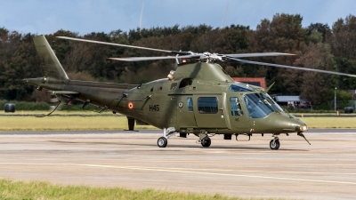 Photo ID 204798 by Jan Eenling. Belgium Army Agusta A 109HO A 109BA, H45
