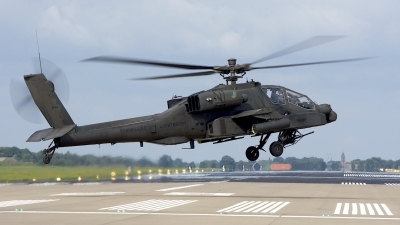 Photo ID 204851 by Robert Flinzner. Netherlands Air Force Boeing AH 64DN Apache Longbow, Q 10