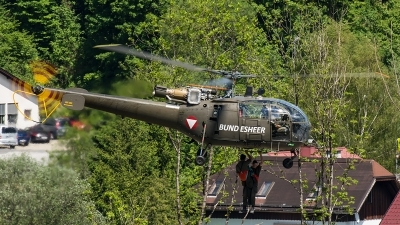 Photo ID 206828 by Thomas Ziegler - Aviation-Media. Austria Air Force Aerospatiale SA 316B Alouette III, 3E KK