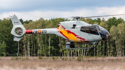 Photo ID 204927 by Jan Eenling. Spain Air Force Eurocopter EC 120B Colibri, HE 25 1