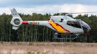 Photo ID 204911 by Jan Eenling. Spain Air Force Eurocopter EC 120B Colibri, HE 25 4