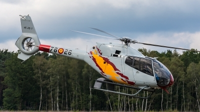 Photo ID 204908 by Jan Eenling. Spain Air Force Eurocopter EC 120B Colibri, HE 25 7