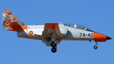 Photo ID 205041 by Alejandro Hernández León. Spain Air Force CASA C 101EB Aviojet, E 25 18