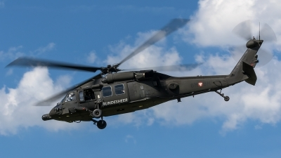 Photo ID 205119 by Thomas Ziegler - Aviation-Media. Austria Air Force Sikorsky S 70A 42 Black Hawk, 6M BH