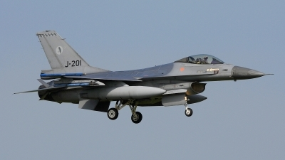 Photo ID 205066 by Peter Boschert. Netherlands Air Force General Dynamics F 16AM Fighting Falcon, J 201