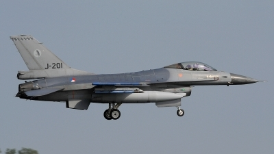 Photo ID 205067 by Peter Boschert. Netherlands Air Force General Dynamics F 16AM Fighting Falcon, J 201