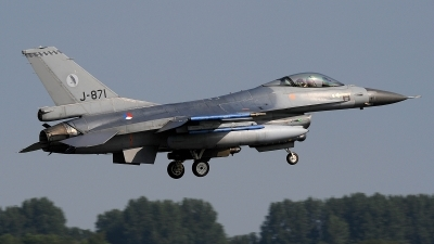 Photo ID 205069 by Peter Boschert. Netherlands Air Force General Dynamics F 16AM Fighting Falcon, J 871
