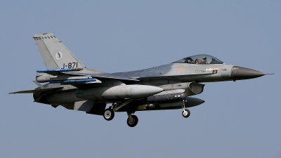 Photo ID 205070 by Peter Boschert. Netherlands Air Force General Dynamics F 16AM Fighting Falcon, J 871