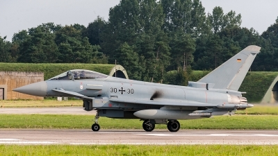 Photo ID 205151 by Jan Eenling. Germany Air Force Eurofighter EF 2000 Typhoon S, 30 30