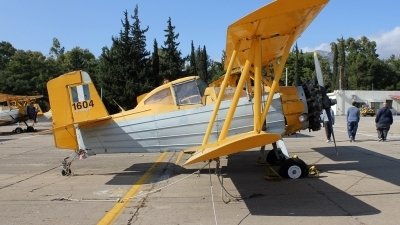 Photo ID 205142 by Stamatis Alipasalis. Greece Air Force Grumman G 164G Ag Cat, 1604