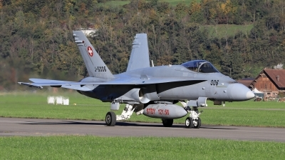 Photo ID 205223 by Milos Ruza. Switzerland Air Force McDonnell Douglas F A 18C Hornet, J 5006