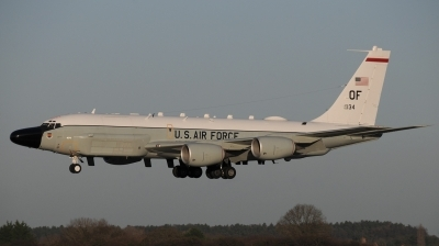 Photo ID 205206 by Luca Chadwick. USA Air Force Boeing RC 135W Rivet Joint 717 158, 62 4134