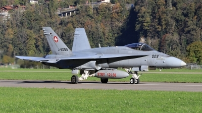 Photo ID 205263 by Milos Ruza. Switzerland Air Force McDonnell Douglas F A 18C Hornet, J 5009