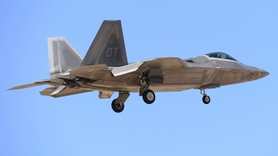 Photo ID 205354 by Peter Boschert. USA Air Force Lockheed Martin F 22A Raptor, 06 4120