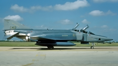 Photo ID 205459 by David F. Brown. USA Air Force McDonnell Douglas RF 4C Phantom II, 66 0413