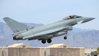 Photo ID 205565 by Peter Boschert. UK Air Force Eurofighter Typhoon FGR4, ZK337