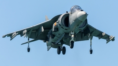 Photo ID 205464 by Adolfo Bento de Urquia. Spain Navy McDonnell Douglas EAV 8B Harrier II, VA 1B 37