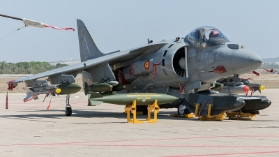 Photo ID 205468 by Adolfo Bento de Urquia. Spain Navy McDonnell Douglas EAV 8B Harrier II, VA 1B 30