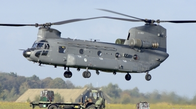Photo ID 205523 by Robert Flinzner. Netherlands Air Force Boeing Vertol CH 47F Chinook, D 892