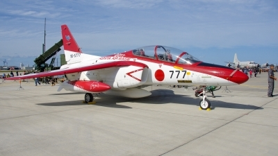 Photo ID 205603 by Michal Krsek. Japan Air Force Kawasaki T 4, 69 5777