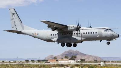 Photo ID 205582 by Jorge Guerra. Spain Air Force CASA C 295M, T 21 13