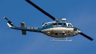 Photo ID 205819 by Roberto Bianchi. Italy Polizia Agusta Bell AB 212, MM81655