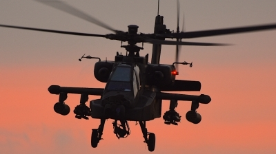 Photo ID 205640 by Robert Flinzner. Netherlands Air Force Boeing AH 64DN Apache Longbow, Q 30