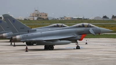 Photo ID 205690 by Duncan Portelli Malta. Oman Air Force Eurofighter EF 2000 Typhoon, 215