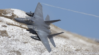 Photo ID 205719 by Tom Gibbons. USA Air Force McDonnell Douglas F 15E Strike Eagle, 91 0605
