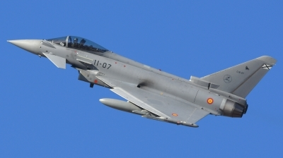 Photo ID 205739 by Alberto Gonzalez. Spain Air Force Eurofighter C 16 Typhoon EF 2000S, C 16 27