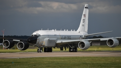 Photo ID 205783 by Luca Fahrni. USA Air Force Boeing RC 135S Cobra Ball 717 148, 61 2663