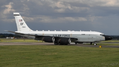 Photo ID 205747 by Luca Fahrni. USA Air Force Boeing RC 135S Cobra Ball 717 148, 61 2663