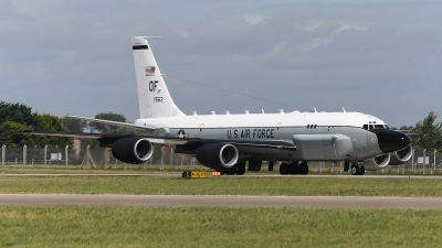 Photo ID 205942 by Luca Fahrni. USA Air Force Boeing RC 135S Cobra Ball 717 148, 61 2663