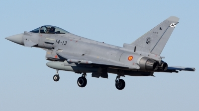 Photo ID 205753 by Alberto Gonzalez. Spain Air Force Eurofighter C 16 Typhoon EF 2000S, C 16 49