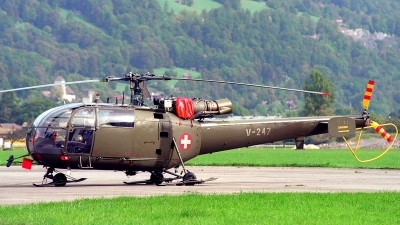 Photo ID 205990 by Sven Zimmermann. Switzerland Air Force Aerospatiale SA 316B Alouette III, V 247
