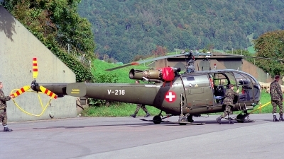 Photo ID 205989 by Sven Zimmermann. Switzerland Air Force Aerospatiale SA 316B Alouette III, V 216