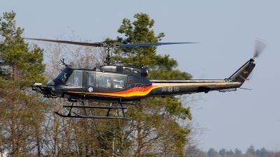 Photo ID 205920 by Matthias Bienentreu. Germany Air Force Bell UH 1D Iroquois 205, 98 98