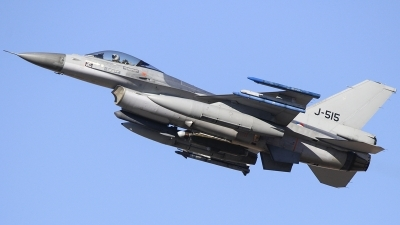 Photo ID 205961 by Ruben Galindo. Netherlands Air Force General Dynamics F 16AM Fighting Falcon, J 515
