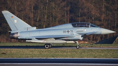 Photo ID 205995 by Rainer Mueller. Germany Air Force Eurofighter EF 2000 Typhoon T, 30 71