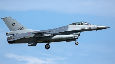 Photo ID 206015 by Thomas Ziegler - Aviation-Media. Netherlands Air Force General Dynamics F 16AM Fighting Falcon, J 001