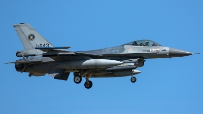 Photo ID 206079 by Thomas Ziegler - Aviation-Media. Netherlands Air Force General Dynamics F 16AM Fighting Falcon, J 643