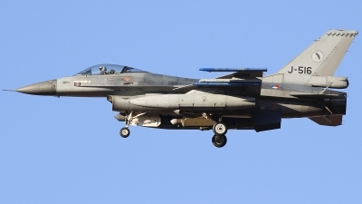 Photo ID 206104 by Ruben Galindo. Netherlands Air Force General Dynamics F 16AM Fighting Falcon, J 516