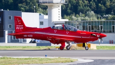 Photo ID 206117 by Agata Maria Weksej. Company Owned Pilatus Pilatus PC 21, HB HZD