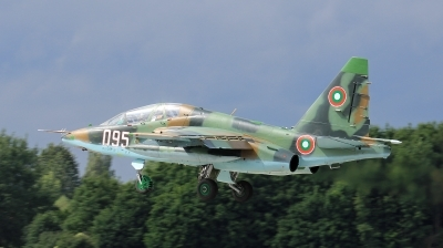 Photo ID 206089 by Milos Ruza. Bulgaria Air Force Sukhoi Su 25UBK, 095
